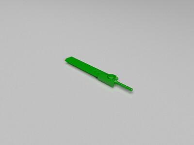 战双帕弥什——动轮大剑-3d打印模型