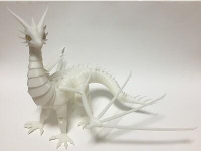 可以活动关节的龙,搬运-3d打印模型