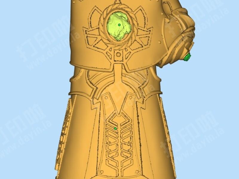 《复仇者手套3无限联盟》灭霸无限字体战争学设计软件图片