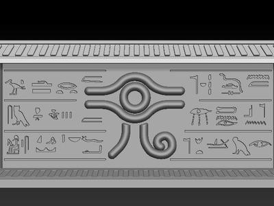游戏王黄金柜-3d打印模型