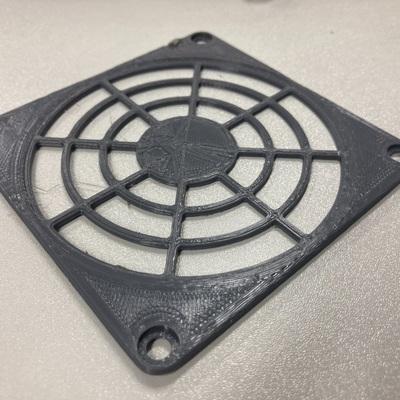 防护网 风扇 9.2×9.2cm No.4-3d打印模型