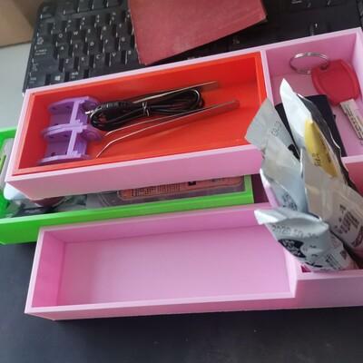 抽拉收纳盒-3d打印模型
