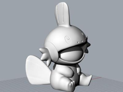 口袋妖怪-水跃鱼-神奇宝贝-3d打印模型