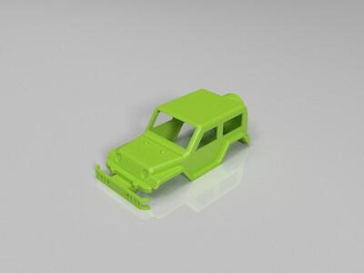 越野车-3d打印模型