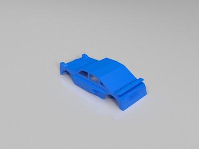 跑车外壳-3d打印模型